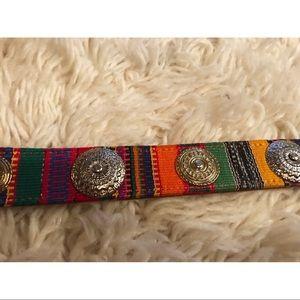 Leather Rainbow Belt